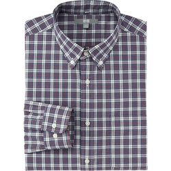 Uniqlo - Broadcloth Check Long Sleeve Shirt