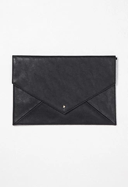 Forever 21 - Faux Leather Envelope Clutch Bag