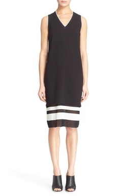 Vince - Sleeveless Double Layer Dress
