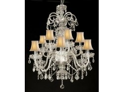 Newegg - Authentic All Crystal Chandelier
