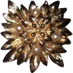 Yves Saint Laurent - Flower Brooch
