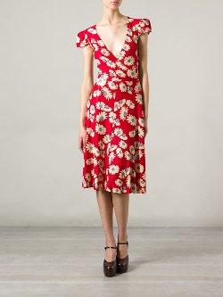 Biba Vintage  - Floral Print Dress