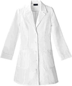 Cherokee - Notched Collar Lab Coat