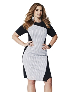 Simply Be - Magisculpt Illusion Bodycon Dress