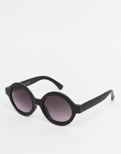 Monki - Round Retro Sunglasses