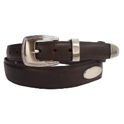 PGA  - Tour Metal Tip Leather Belt
