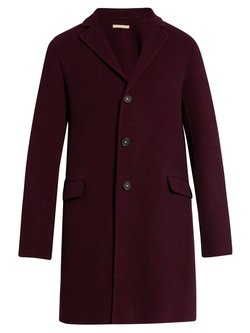 Massimo Alba - Hounds-Tooth Single-Breasted Wool Coat