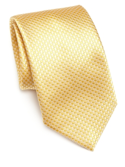 Saks Fifth Avenue Collection - Silk Houndstooth Tie