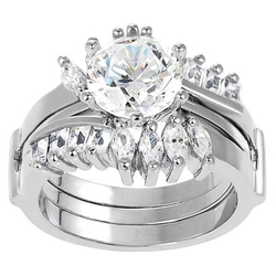 Target - Tressa Round Cut Cubic Zirconia Prong Set Ring