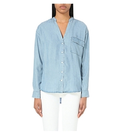 Closed - V-Neck Chambray Shirt