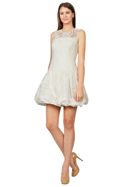 Rebecca Taylor - Taffeta Voluminous Bubble Dress