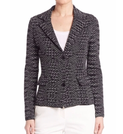M Missoni  - Two-Button Spacedye Blazer