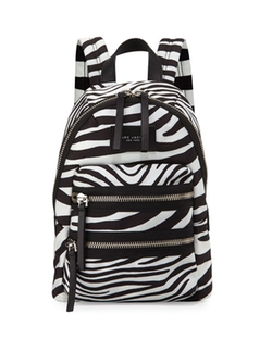 Marc Jacobs  - Zebra-Print Biker Backpack