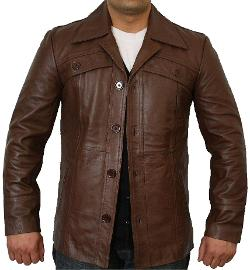 Leather Next - Classic Button Style Jacket