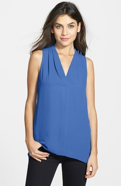 Vince Camuto - Sleeveless V-Neck Blouse (Regular & Petite)