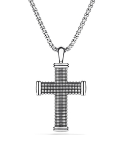 David Yurman - Sky Large Cross Necklace