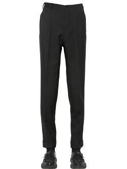 Saint Laurent  - Pleated Wool Gabardine Trousers