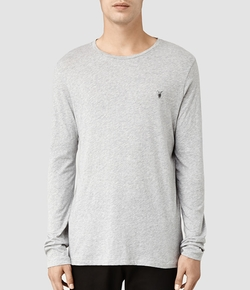All Saints - Tonic Long Sleeved Crew T-Shirt