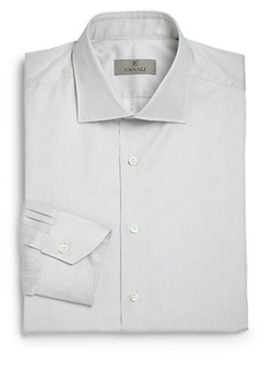 Canali  - Regular-Fit Slim Jim Dress Shirt