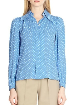 Michael Kors - Silk Dot Blouse