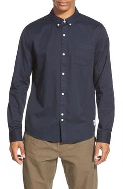 BellField  - Trim Fit Twill Woven Shirt