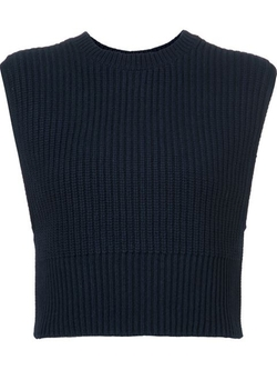 Adam Lippes - Sleeveless Cropped Tank Top
