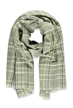 Forever 21 - Frayed-Hem Plaid Scarf