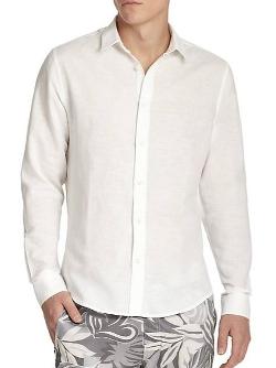 Onia  - Linen & Cotton Sportshirt