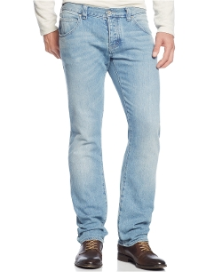 Armani Jeans - Slim Fit Light-Wash Jeans