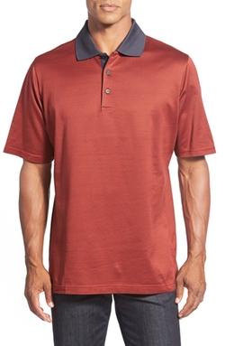 Bugatchi  - Short Sleeve Cotton Polo
