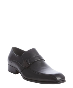 Kenneth Cole New York - Leather Monk Strap Squared Toe Loafers Shoes