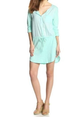 Michael Stars - Long-Sleeve Shirt Dress