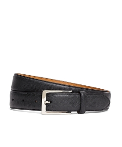 Brooks Brothers - Saffiano Leather Belt
