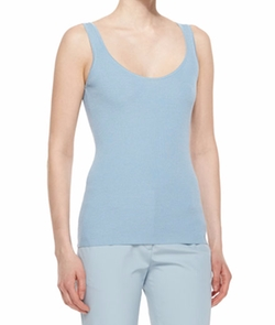 The Row - Scoop-Neck Wool/silk Tank Top