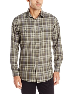 Van Heusen - Heather Plaids Button Up Shirt