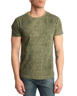 Sixpack France X Menlook   - Crocodile Print T-shirt
