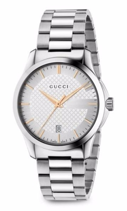 Gucci  - G-Timeless Stainless Steel Watch