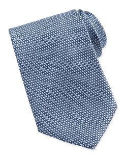 Ermenegildo Zegna  - Micro-Circle Neat Tie