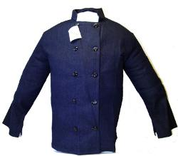 Ibiley Uniforms - Soft Comfortable Denim Executive Chef Coat Jacket