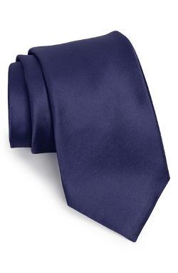 Nordstrom  - Solid Satin Silk Tie