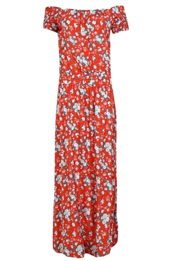 Boohoo - Sue Off The Shoulder Floral Dress