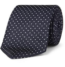 Turnbull & Asser  -  Polka-dot Silk Tie