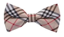 Scott Allan Collection - Silk Plaid Bow Tie