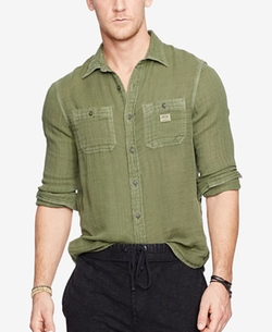 Denim & Supply Ralph Lauren  - Button Down Workshirt