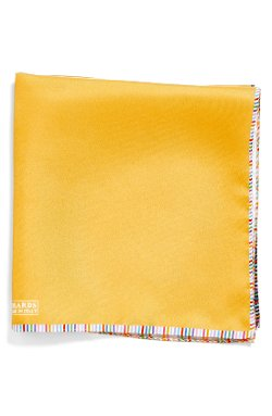 JZ Richards  - Woven Silk Pocket Square