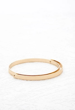 Forever 21 - Crescent Layer Bangle Bracelet