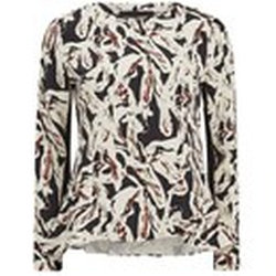 Karl Lagerfeld - Swirl Printed Long Sleeve Top