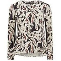 Karl Lagerfeld - Swirl Printed Long Sleeve Top