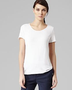 Reiss - Satin Trim Jersey