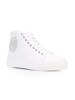 Versus - Lion Disc Hi-Top Sneakers